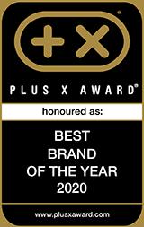 Plus X Award, Best design Brand 2018