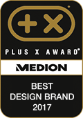 Plus X Award, Best design Brand 2017