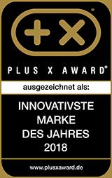Plus X Award, innovativste Marke 2018