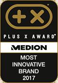 Plus X Award, Most innovative Brand 2017