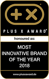 Plus X Award, Most innovative Brand 2018