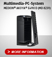 Multimedia-PC-System MEDION® AKOYA® E4110 D (MD 8239)