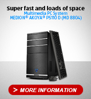 Multimedia PC System MEDION® AKOYA® P5110 D (MD 8804)