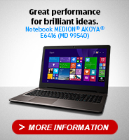 Notebook MD99540 E6416