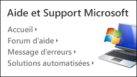 Aide et Support Microsoft