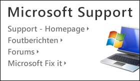 Banner Microsoft-Support