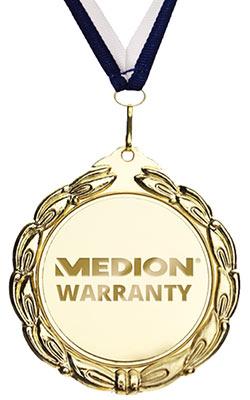 MEDION Prvovrstna podpora z enoletno garancijo